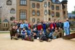 Gruppenfoto im Schlosshof Wernigerode