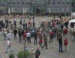 Halt auf dem Marktplatz in Goslar