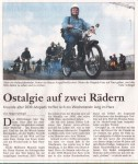 Bericht in der nGoslarsche Zeitung
