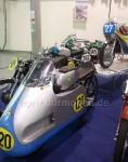 Historische Motorrad Rennmaschinen