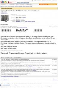 Simson Amsel Reifen 1964