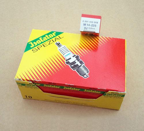 10 X Z 252 Ndkerze M14 225 Beru Isolator Spezial Neu Ebay