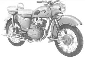 MZ Motorrad ES 175
