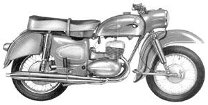 MZ Motorrad ES 250