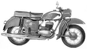MZ Motorrad ES 300