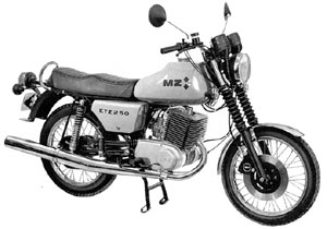MZ Motorrad ETZ 125