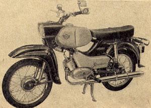 Moped Simson Habicht