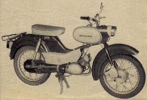 Moped Simson Spatz