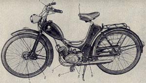 Moped Simson SR 1