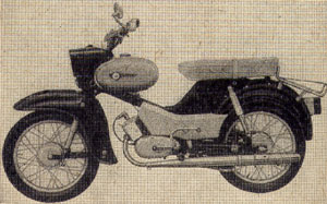 Moped Simson Star