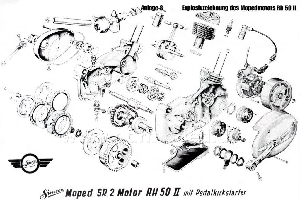 Tolle Auto Motor Explosionszeichnung Bilder - Elektrische ...