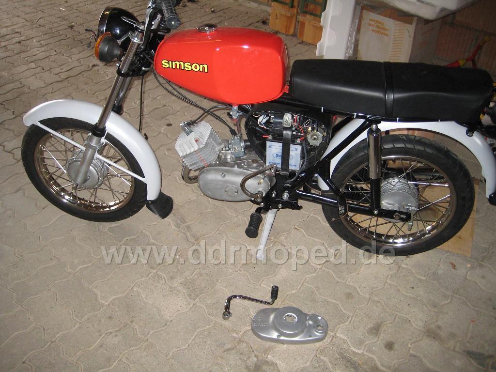 S50 Motor Mit Star Kupplungsdeckel Simson Forum