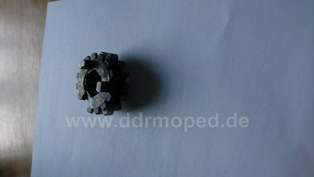 Gang Schaltung Rad Simson Schwalbe KR Star SR S 50 Motor Getriebe Schaltrad 3