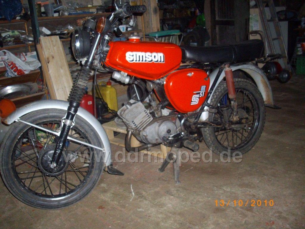Suche Simson S50 Schutzblech Vorne Ddrmopedde