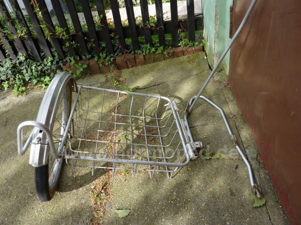 Verkaufe Fahrrad Seitenwagen Firma Sprick Ddrmopedde