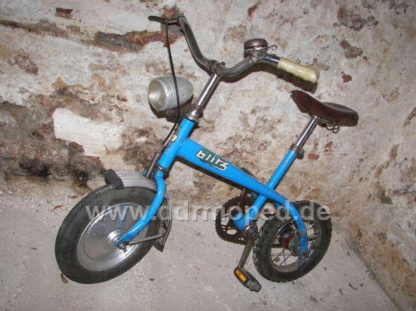 blitz auf fahrrad