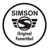 Simson Original Fanartikel