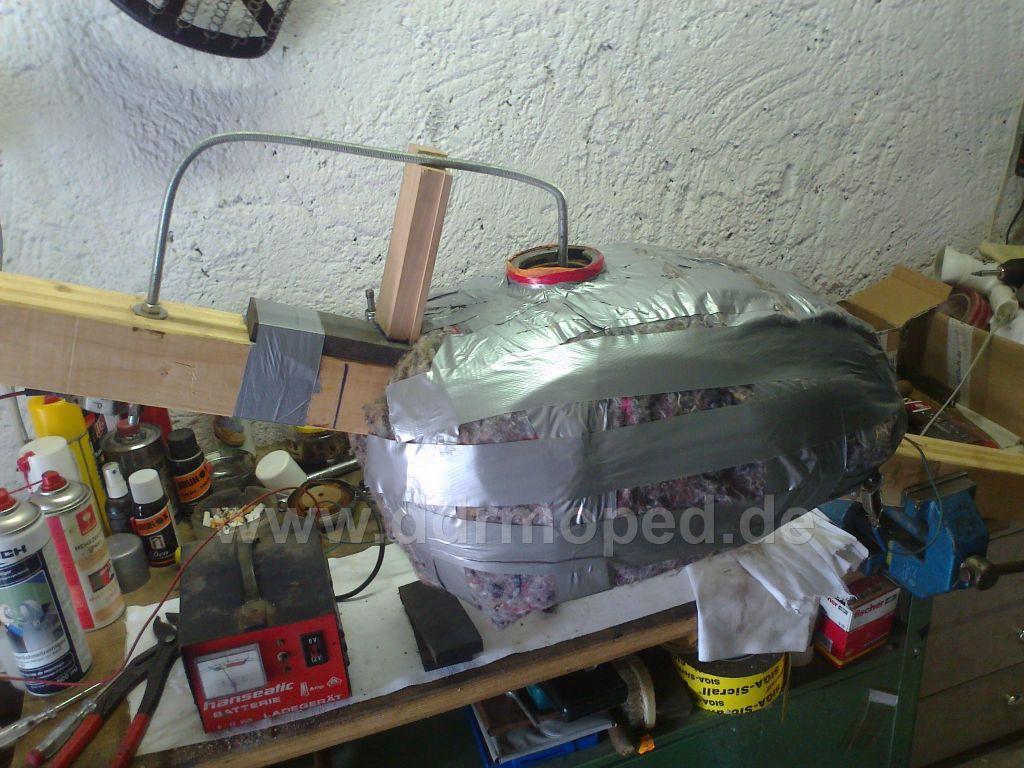 Turbo Tank entrosten mit Danklorix und Strom - DDRMoped.de TV19