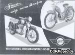 Simson AWO und SR 2 1957