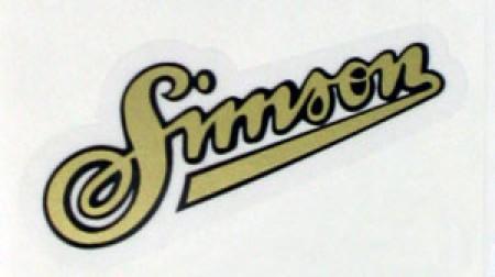 Aufkleber Simson Schriftzug Für Sr1 Sr2