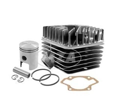 zylinder set 63ccm mit zylinderkopf kolben f r simson s50. Black Bedroom Furniture Sets. Home Design Ideas